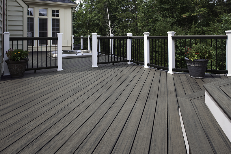 Build your dream deck rocha son construction sf bay area for Staining trex decking