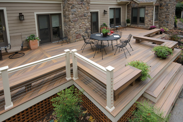 Trex Decking Colors >> Fiberon Composite Decking Pacifica Half Moon Bay