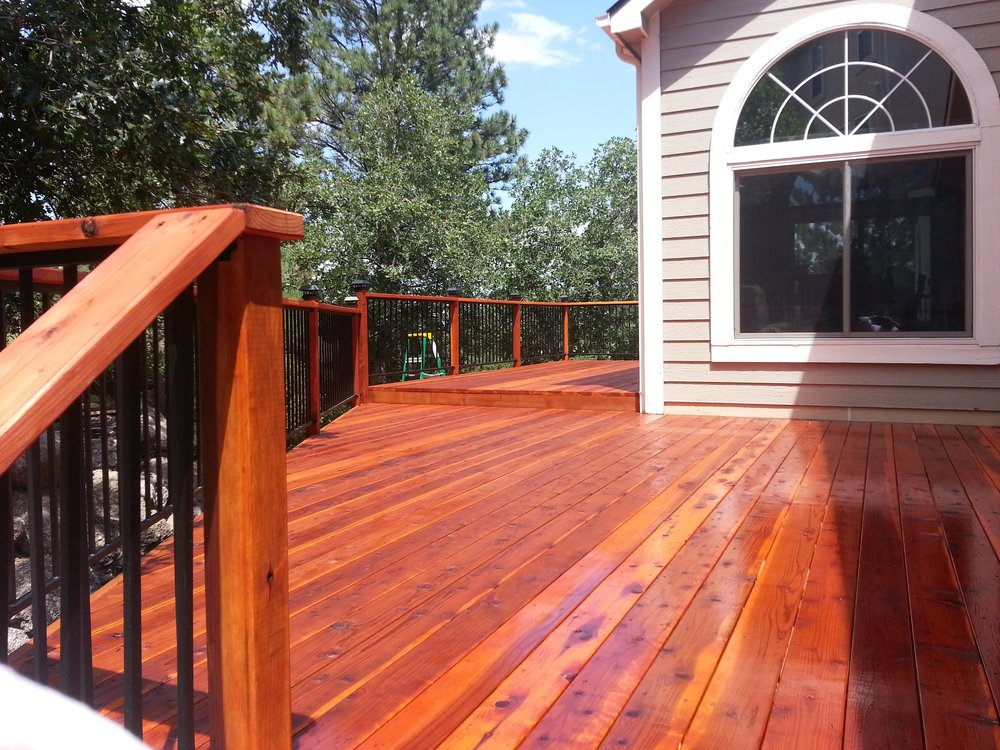 Redwood Decking Atherton San Mateo