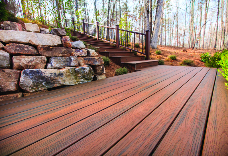 Trex composite decking trexpro deck builders for Colors of composite decking